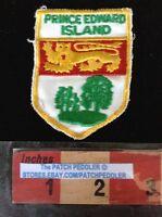 PATCH PRINCE EDWARD ISLAND COAT OF ARMS TRAVEL SOUVENIR 59VV ex