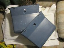 1988-1994 CHEVY SILVERADO EXT. CAB REAR SEAT  MAP POCKET BLUE (2) one pair