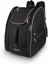 CLISPEED Ski Boot Bag Ex-Large Skiing Gear Backpack,Snowboarding Travel Luggage.