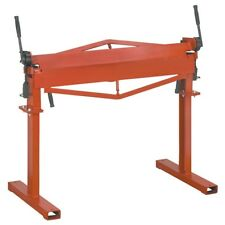 36 in. Metal Brake with Stand metal bender Bend sheet metal, mild steel and stai