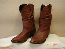 *Dingo Cowgirl Slouch Boots D17637 Size 6M Leather Upper