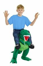 Morphsuits MCKPBTR T-Rex Piggyback Kids Fancy Dress Costume, One Size