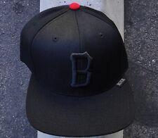 Black Scale Half Tone Logo Mens Black/Purple Skate Co. Snapback Hat One Size
