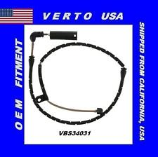 Verto USA Brake Pad Sensor Wire Front fits 04-11 BMW X3  VBS34031