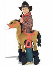 Child Ride A Pony Horsey Horse Western Child Costume