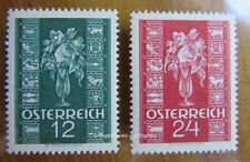 Flowers Austrian Stamps