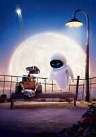 WALL-E Movie PHOTO Print POSTER Textless Film Art Andrew Stanton Incredibles 005