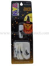NYC Halloween 20 Press-on unghie finte 6101-24 Sexy Kitty Kat Gatto Autoadesivo