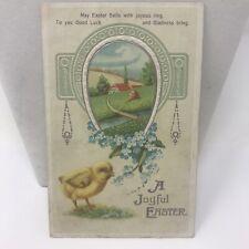 Vintage Postcard EASTER 1912 Arcanum Ohio Greetings Card