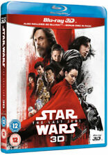 STAR WARS: THE LAST JEDI [Blu-ray 3D + 2D] UK Exclusive 3D Release 3-Disc Pack