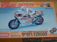 Kyosho Yamaha yzr 500 1/8 bike motorcycle vintage