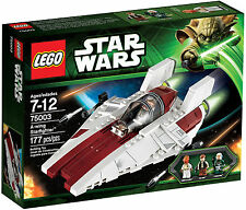 Lego Star Wars 75003 A-wing Starfighter Han Solo Ackbar Retired 2013, MISB Rare