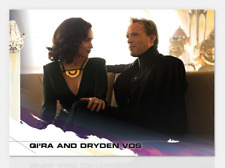 2018 TOPPS NOW COUNTDOWN TO SOLO: A STAR WARS STORY #9 QI'RA AND DRYDEN VOS