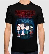 Stranger Things Gravity Falls Combo T-shirt Men's Women's S-3XL Tee