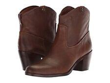 NIB Frye Jolene Pull-On Short leather ankle boots size 8 MSRP $298