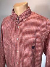 Ralph Lauren Chaps Shirt Mens Size L Long Sleeve Button Front Dress Shirt Large