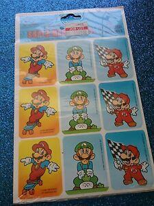 Nintendo Super Mario Stickers Decal (sealed)