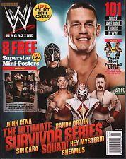WWE magazine November 2012 John Cena, Randy Orton w/Poster EX 121015DBE