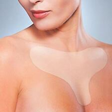 Reusable Anti Wrinkle Chest Pad Silicon Cleavage Prevent aging Wrinkles Removal