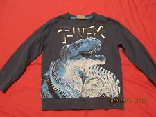 George Navy Jurassic World Sweatshirt - Size 4-5 yrs - Excellent Condition!!