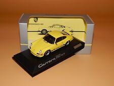 Porsche 911 Carrera RS 2.7 1980 Gelb Porsche Dealer-Box PMA-Minichamps 1/43 OVP