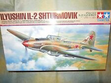 Tamiya 1/48 Ilyushin IL-2 Shturmovik Model Air Avion Kit #61113