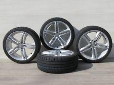 Für Audi A4 B8 8K 8K2 8K5 19 Zoll Sommerräder MAM A1 SL ET42 Silber Tristar BE32