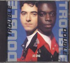 DOUBLE TROUBLE - As one - CD 1989 USATO OTTIME CONDIZIONI