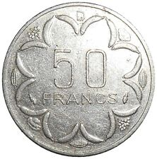 Central African States BEAC Gabon 50 Francs 1984 D KM#11 (G-15)