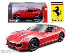 Ferrari 599 Gto + Vitrine, Bburago Modèle Auto 1:3 2