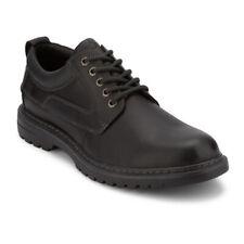 Dockers para Hombre alcalde Cuero Resistente Zapatos Oxford Informales con Cordones con NeverWet