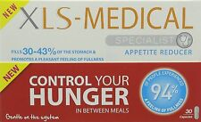 XLS Medical Appetite Reducer - Diet Capsules - Weight Loss - 30 Capsules
