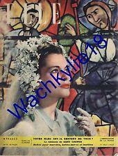 Elle n°75 du 01/05/1947 robe mariage mode fashion