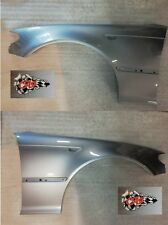 BMW E46 COUPE PAIR OF WINGS 2003-2005 PAINTED  SILVER GREY A08 SILBERGRAU NEW