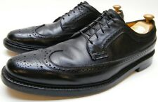 MENS VTG FLORSHEIM KENMOOR LONGWING 5 NAIL BLK LEATHER OXFORD DRESS SHOES 13 AAA
