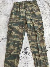 Bosnian serb army Green tiger stripe camouflage trousers Serbia Serbian war