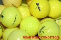 50Srixon Z Star Yellow Near Mint Condition GolfBalls
