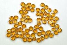 144 Swarovski 2088 16ss Flatbacks Nail Art 4mm ss16 Cristal De Neón Naranja Eléctrico
