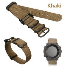 For Suunto Essential/Traverse/Core Wrist Band Strap Bracelet Replacement Khaki
