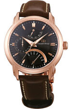 Orient Star Retrograde Automatic Men's Watch Tag Date Reserve Leather Sde00003b0
