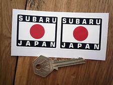 SUBARU JAPAN Japanische Hinomaru Stil Auto Aufkleber 50mm Paar Impreza Helm Baja