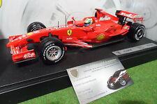 F1 FERRARI F2007 Feli MASSA #5 SPONSOR MARLBORO 1/18 HOT WHEELS K6630 formule 1