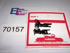 EE 70157 NEW Marklin HO Pair of Plastic Couplers 701570 with Relex Tab