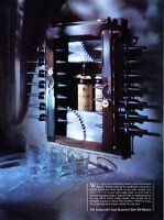 "1986 Glenlivet Scotch Whiskey Bottle photo ""Strangely Possessive"" promo print ad"