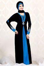 Niqab Hijab Islamic dress Burka Abaya Diamond Lace Burqa black jilbab dubai 1453