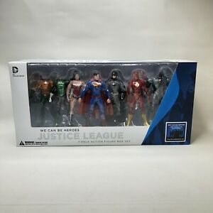 JUSTICE LEAGUE NEW 52 BOX SET ACTION FIGURE 7 PACK WE CAN BE HEROES DC Comics US