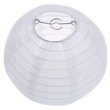 """SODIAL(R) Blanc chinois / japonais Lanterne en Papier / Lampe 8"""" Diametre K8E6"""