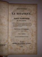 M. Alph. de Candolle - Introduction à l'étude de la Botanique - 1835