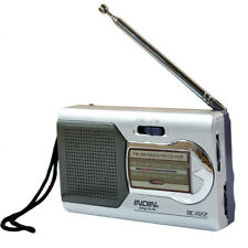 Pocket Mini Radio Battery Powered Portable AM/FM World Receiver Telescopic