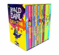 Roald Dahl 15 Books Box Set Collection New Going Solo, Matilda,The BFG,Esio Trio